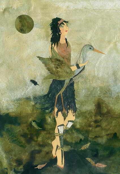 Spirit Animal 18 Heron